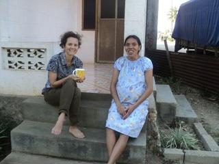 Monica in East Timor