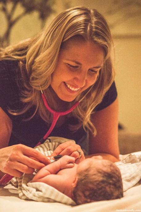 Amy_birth_Baby