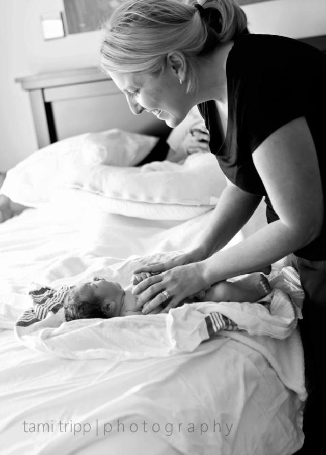 Amy_Birth_babybed