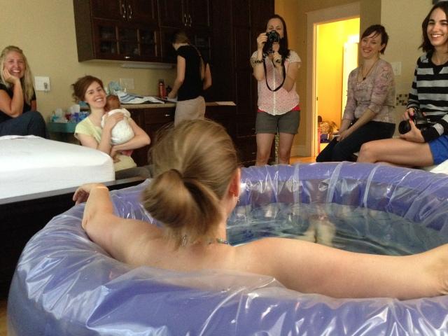 Tub w: Birth Team