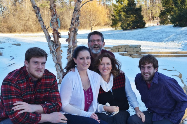 Hartung family in Hudson