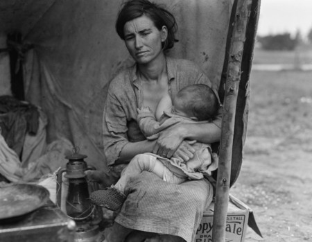 Florence Owens Thompson (mother), taken in 1930s in Nipomo, California