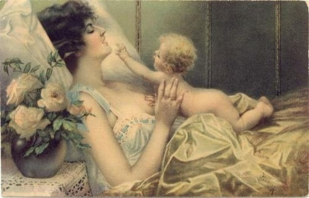 Victoria Era breastfeeding