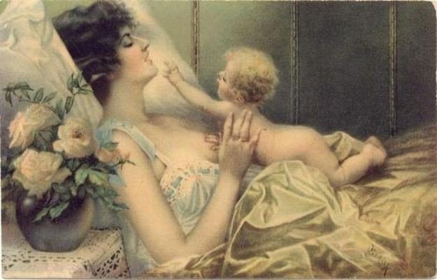 Victoria Era breastfeeding